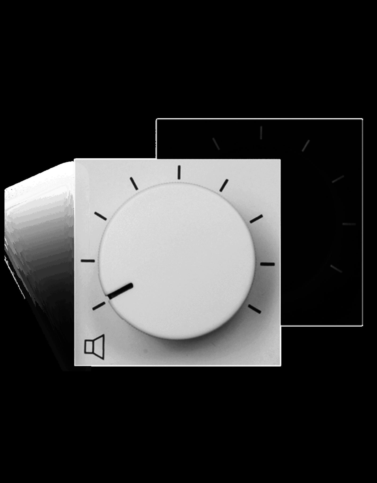 Audac Remote volume controller 45 x 45 mm White version