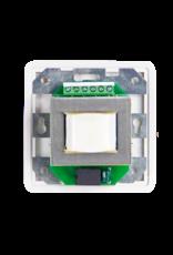 Audac 100V volume controller 100W 80 x 80 mm White version