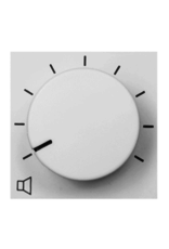 Audac 100V volume controller 36W  45 x 45 mm White version