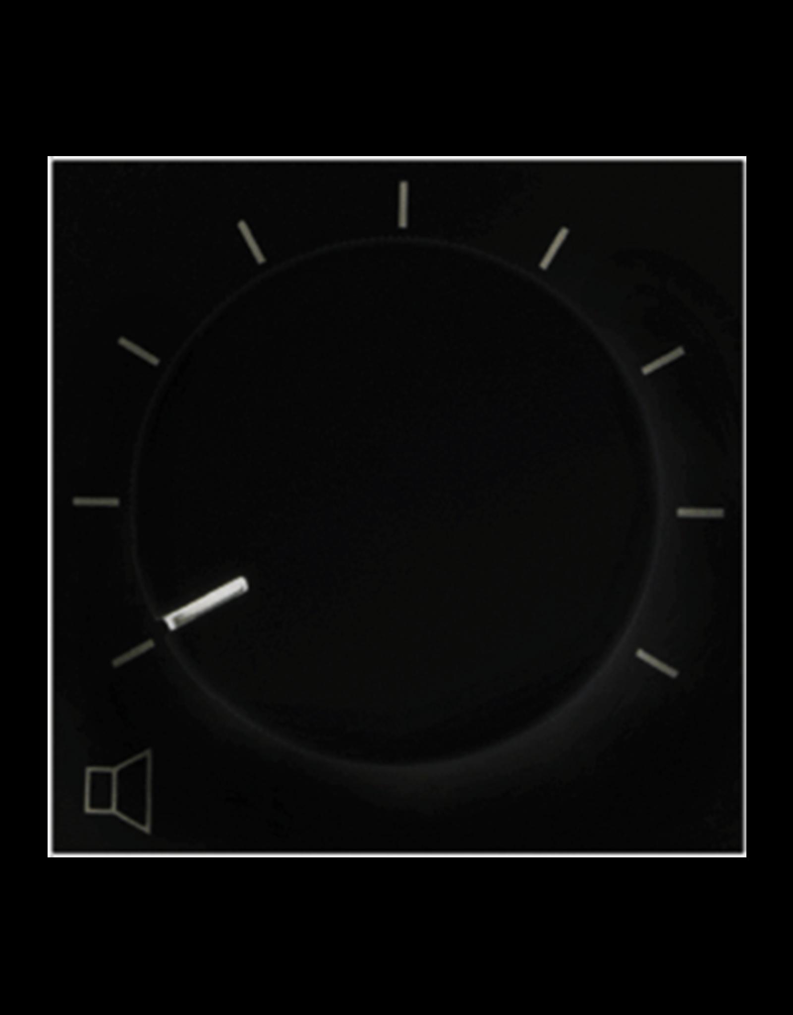 Audac 100V volume controller 36W  45 x 45 mm Black version