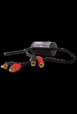 Audac Stereo groundloop isolator RCA male - RCA female