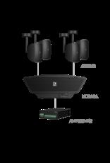 Audac 4x ATEO2S + NOBA8A + AMP523MK2 Black
