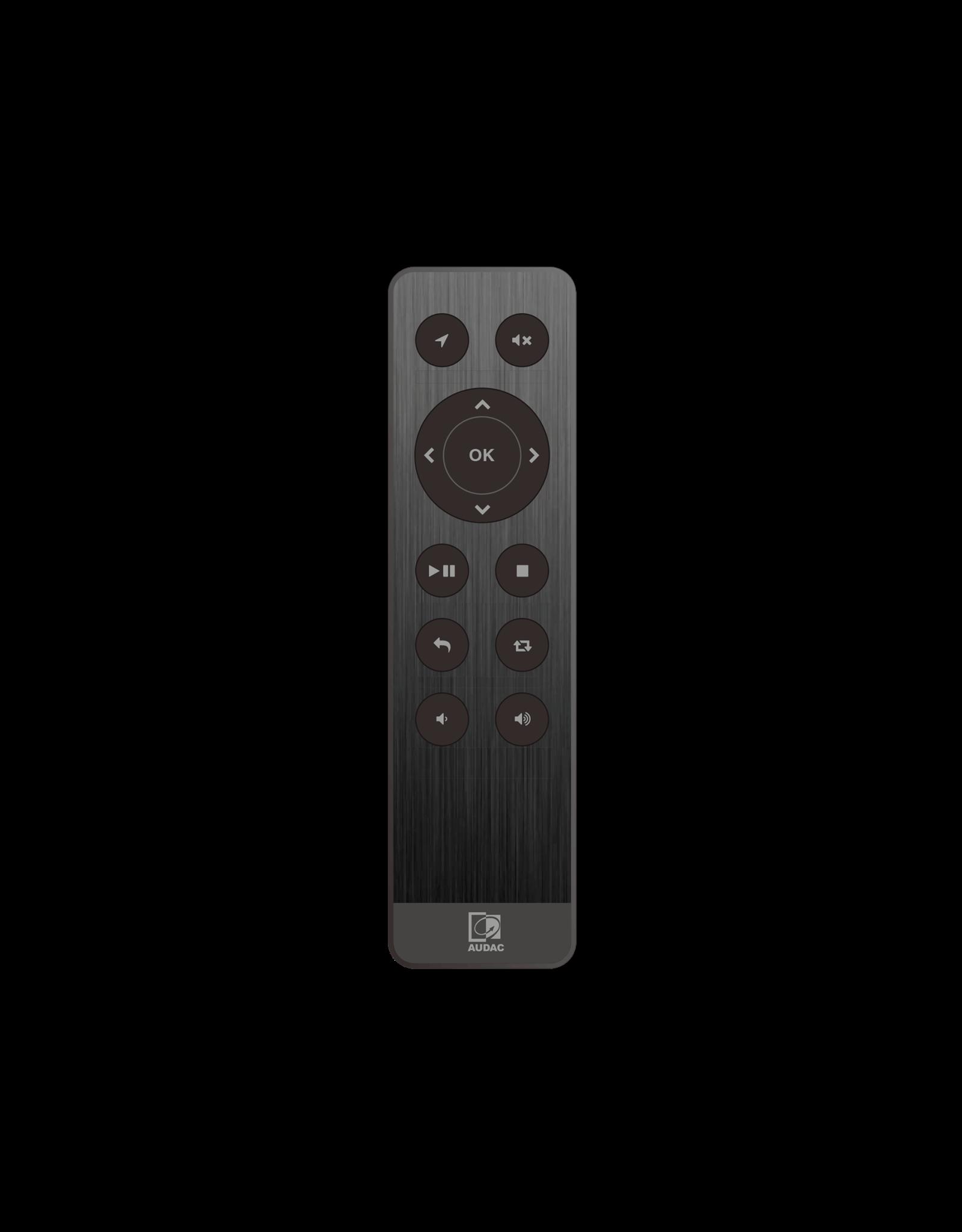 Audac Audio player RF remote control