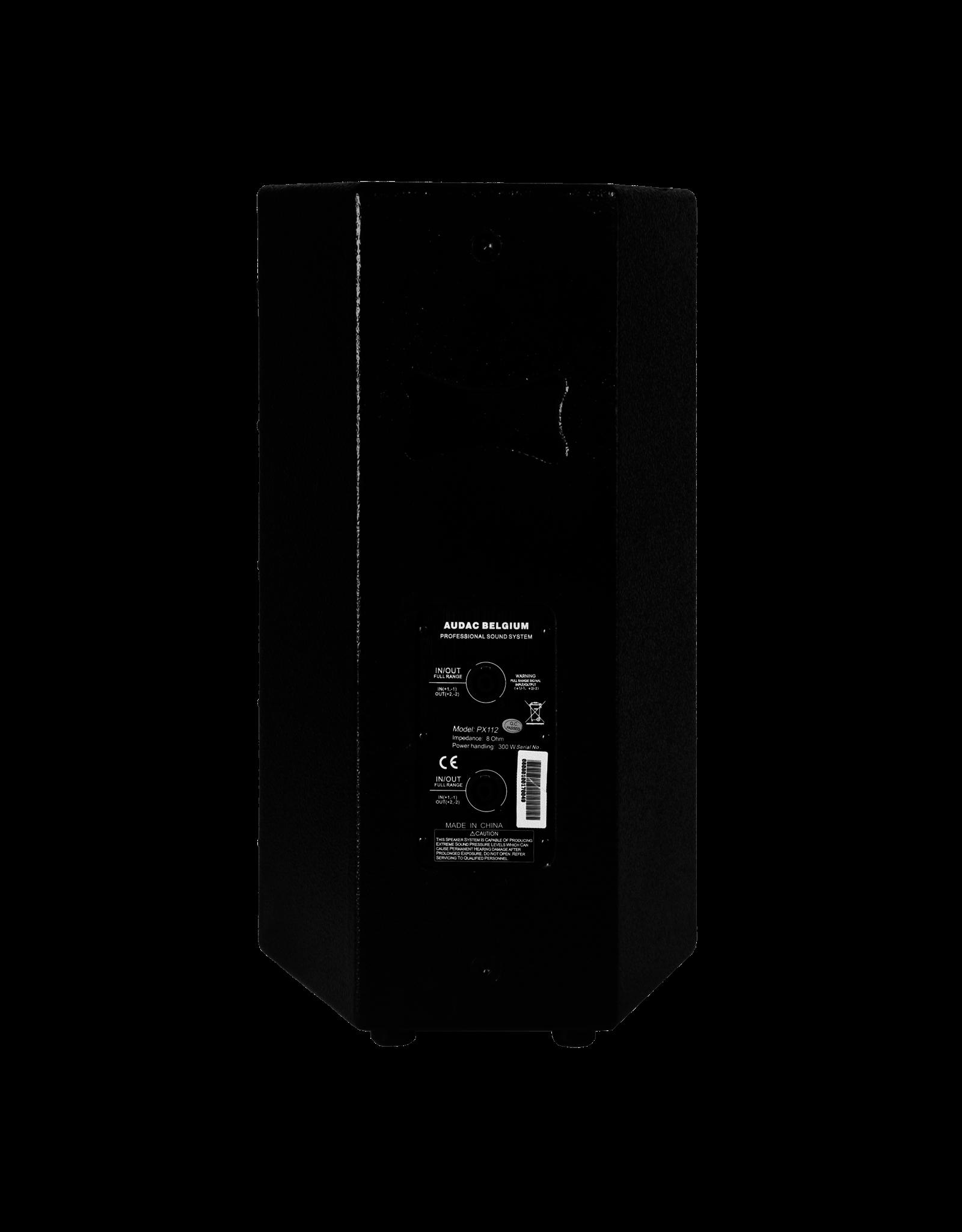 "Audac High-power speaker 12"" Black version"