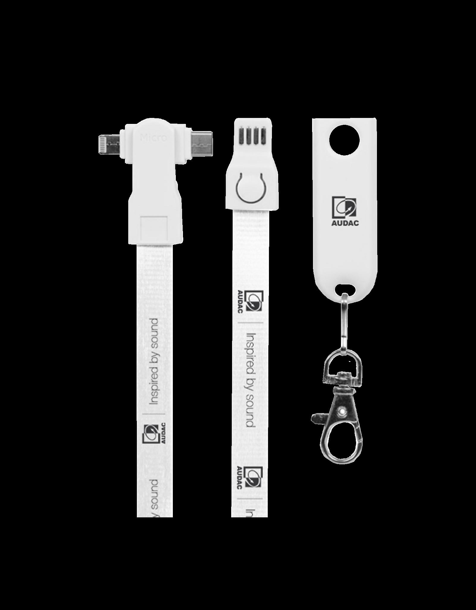 Audac AUDAC USB charging lanyard 3-in-1