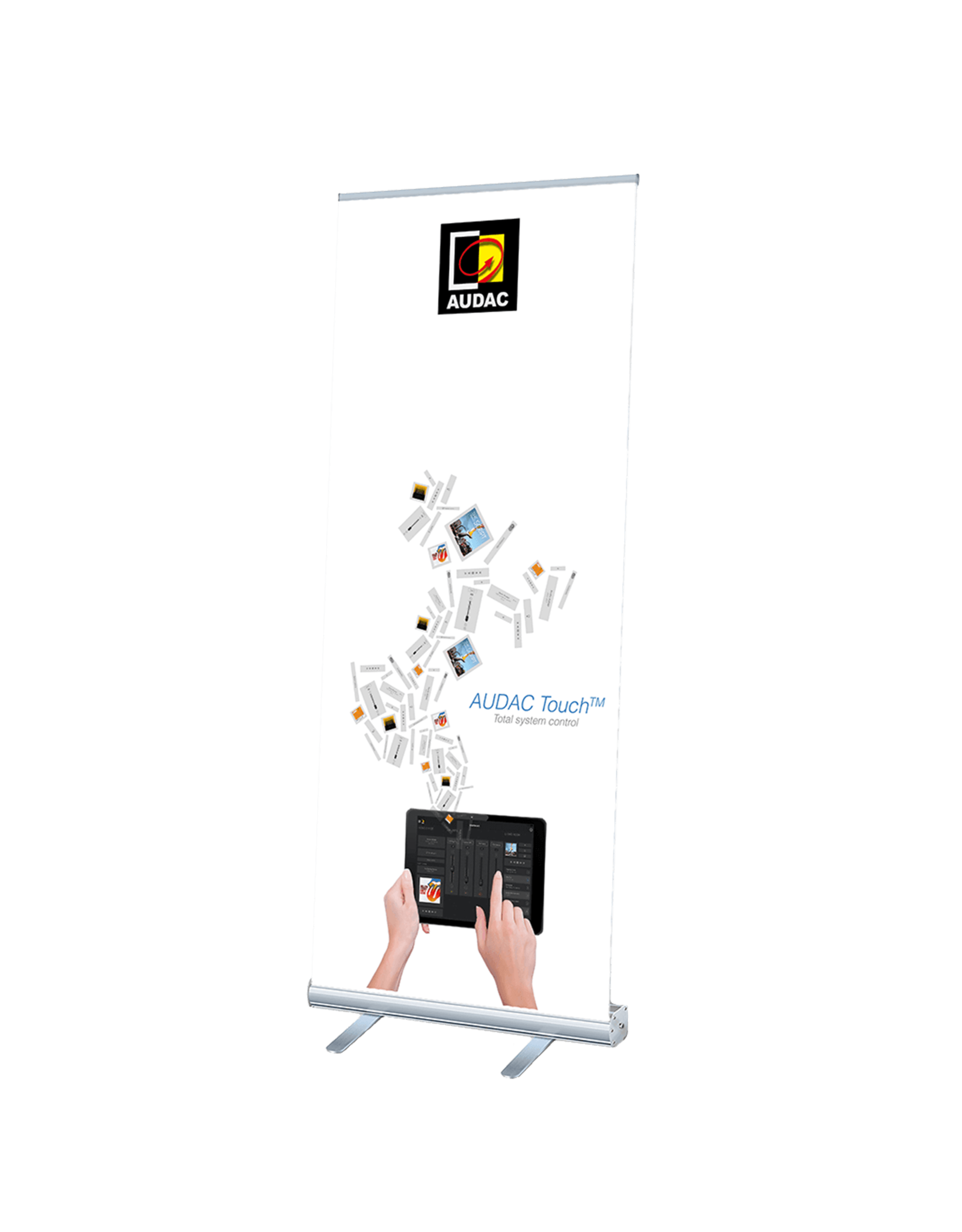 Audac AUDAC Touch™ roll-up display
