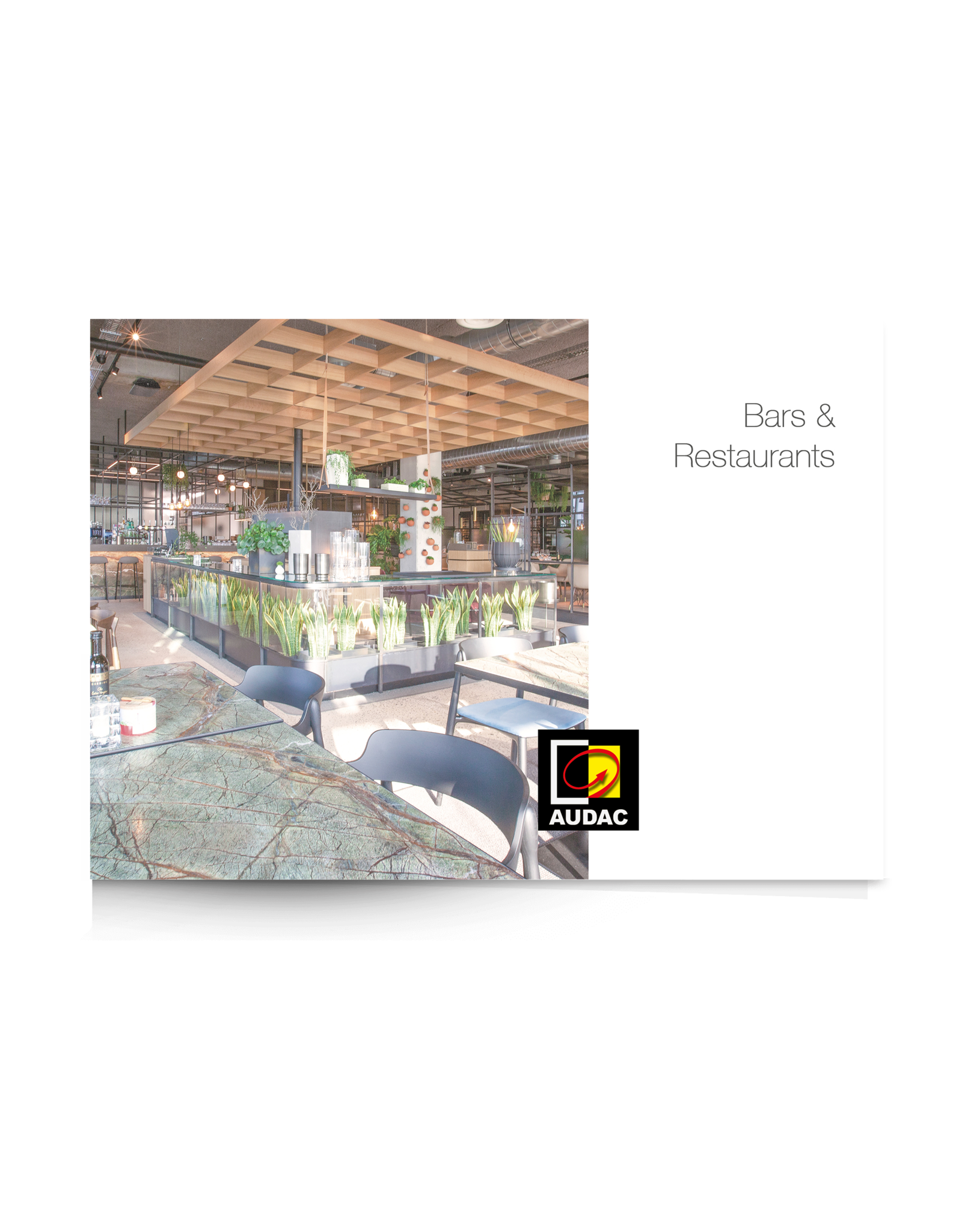 Audac AUDAC References - Bars and Restaurants brochure