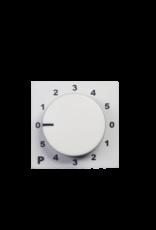 Audac Program selector 45 x 45 mm White version