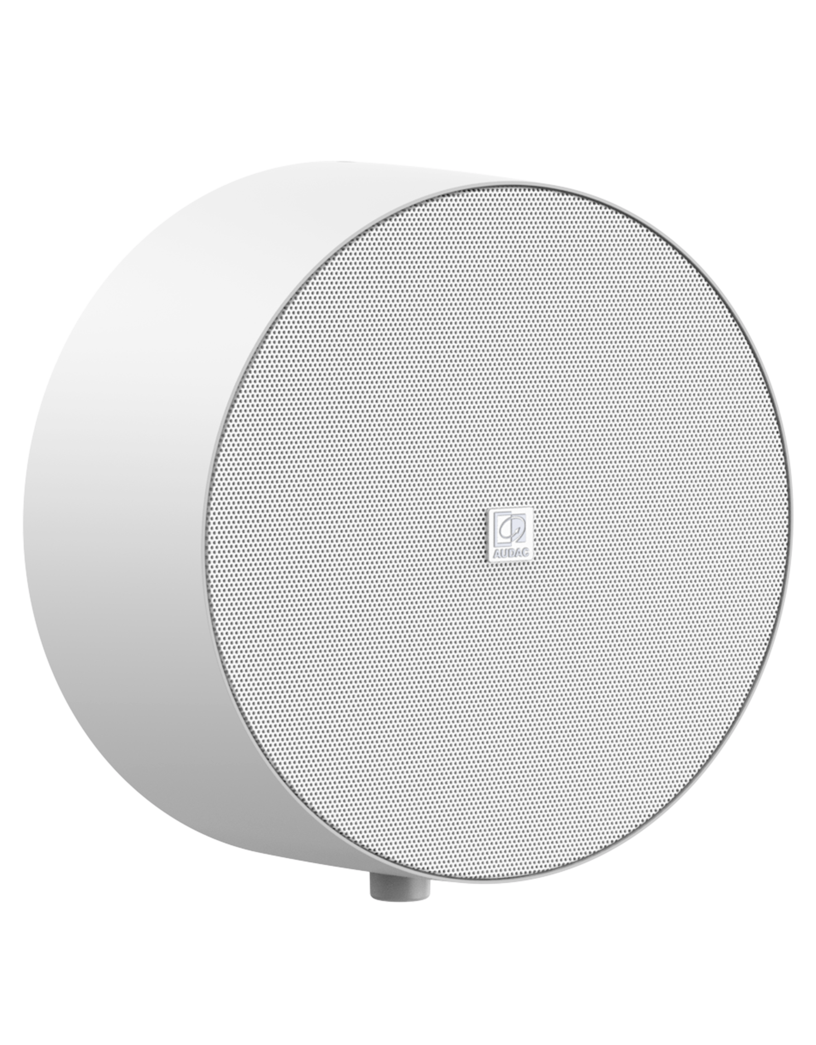 Audac Surface mount speaker White version with volume controller