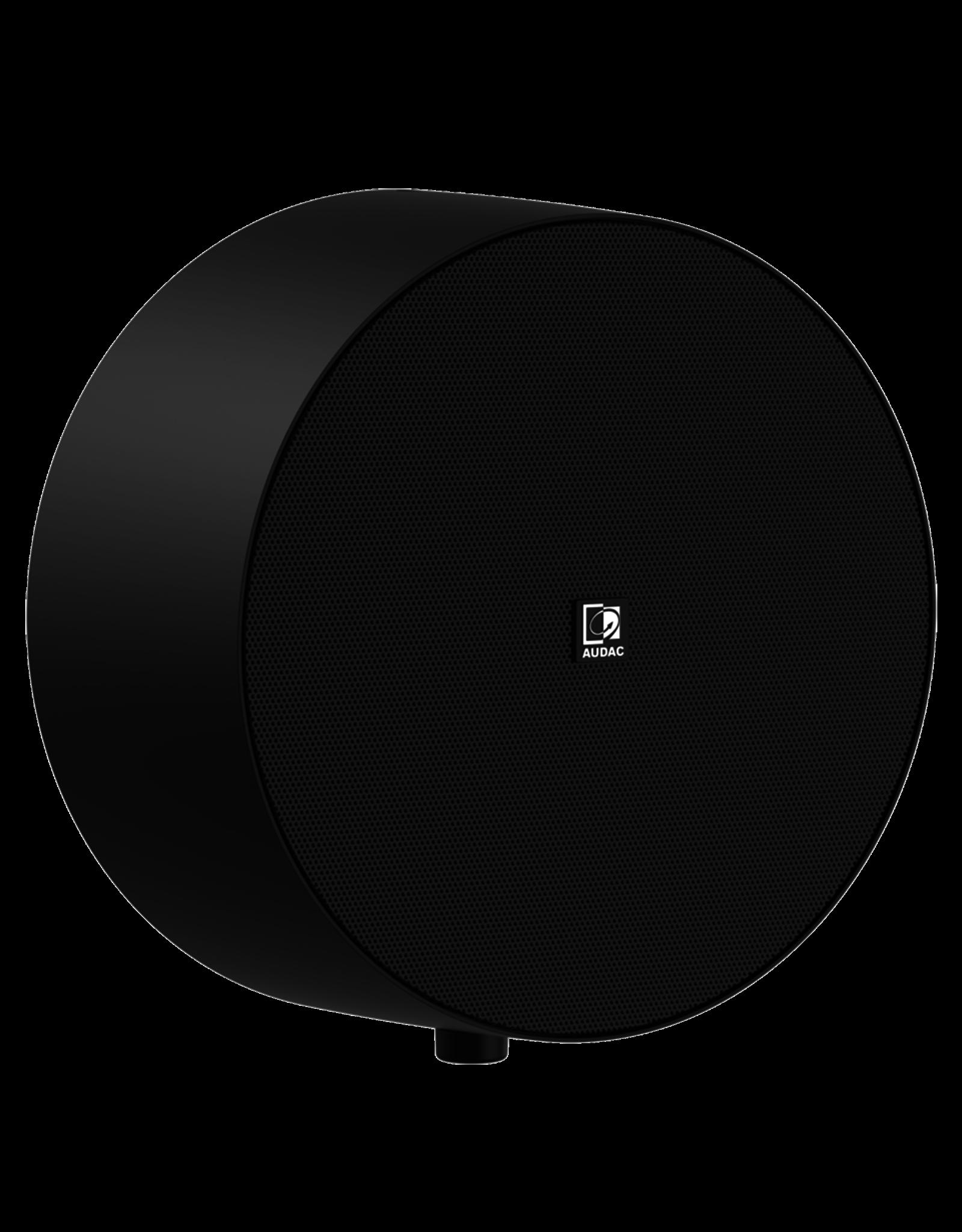 Audac Surface mount speaker Black version with volume controller