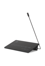 Audac SurfaceTouch™ paging microphone 4 zones