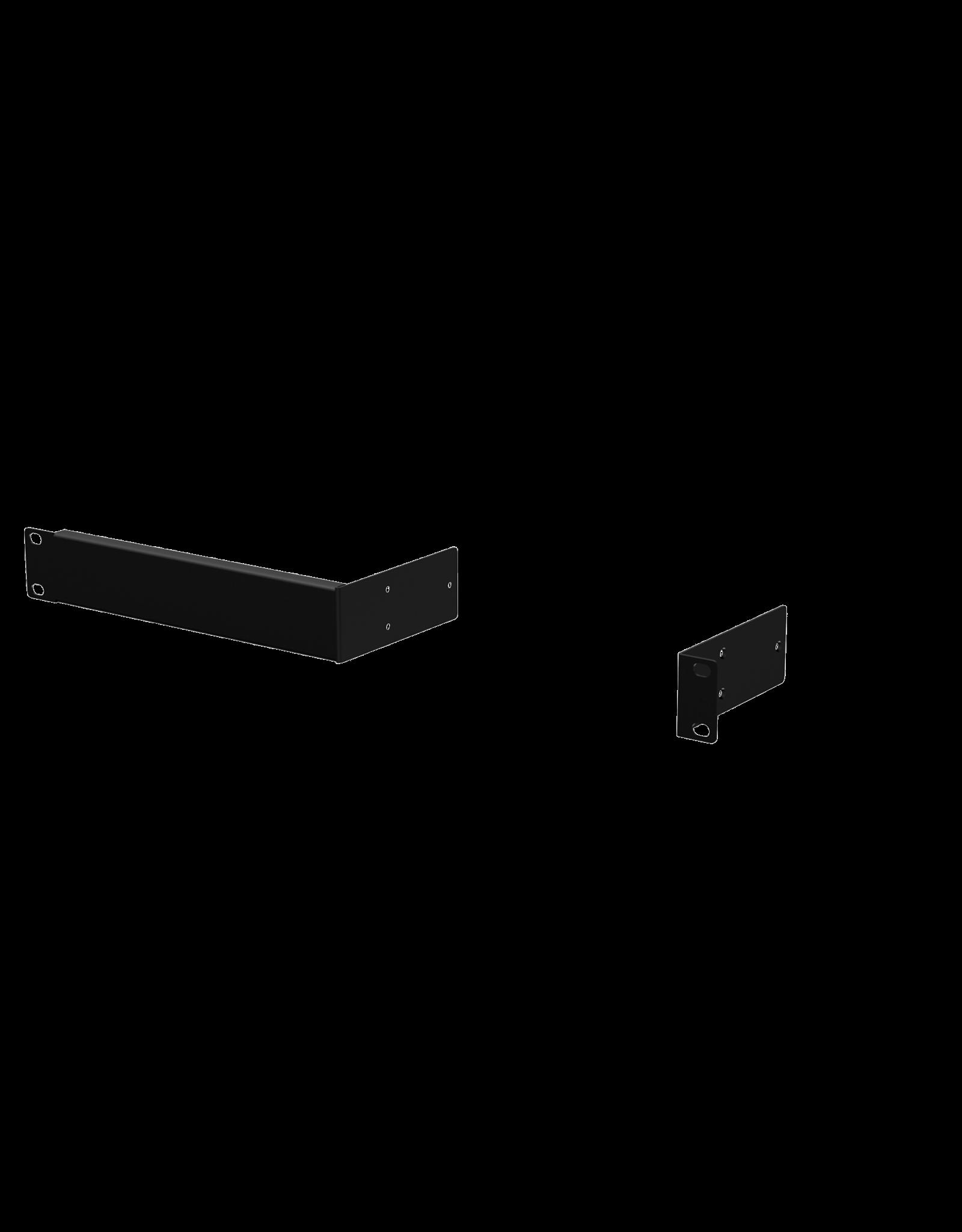 Audac Rack mounting set for half rackspace 1u enclosures