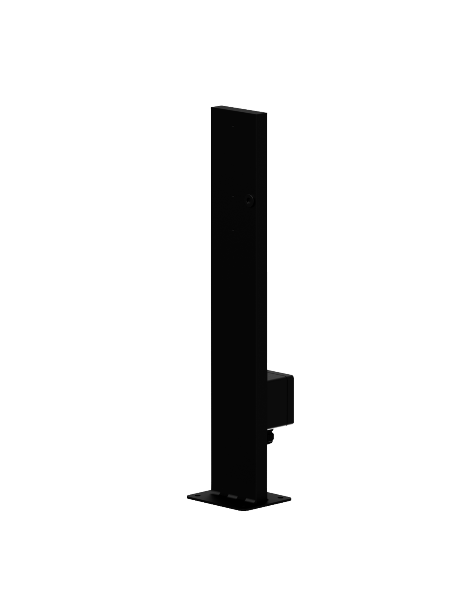 Audac Mounting pole for outdoor speaker - 600 mm height Outdoor black version