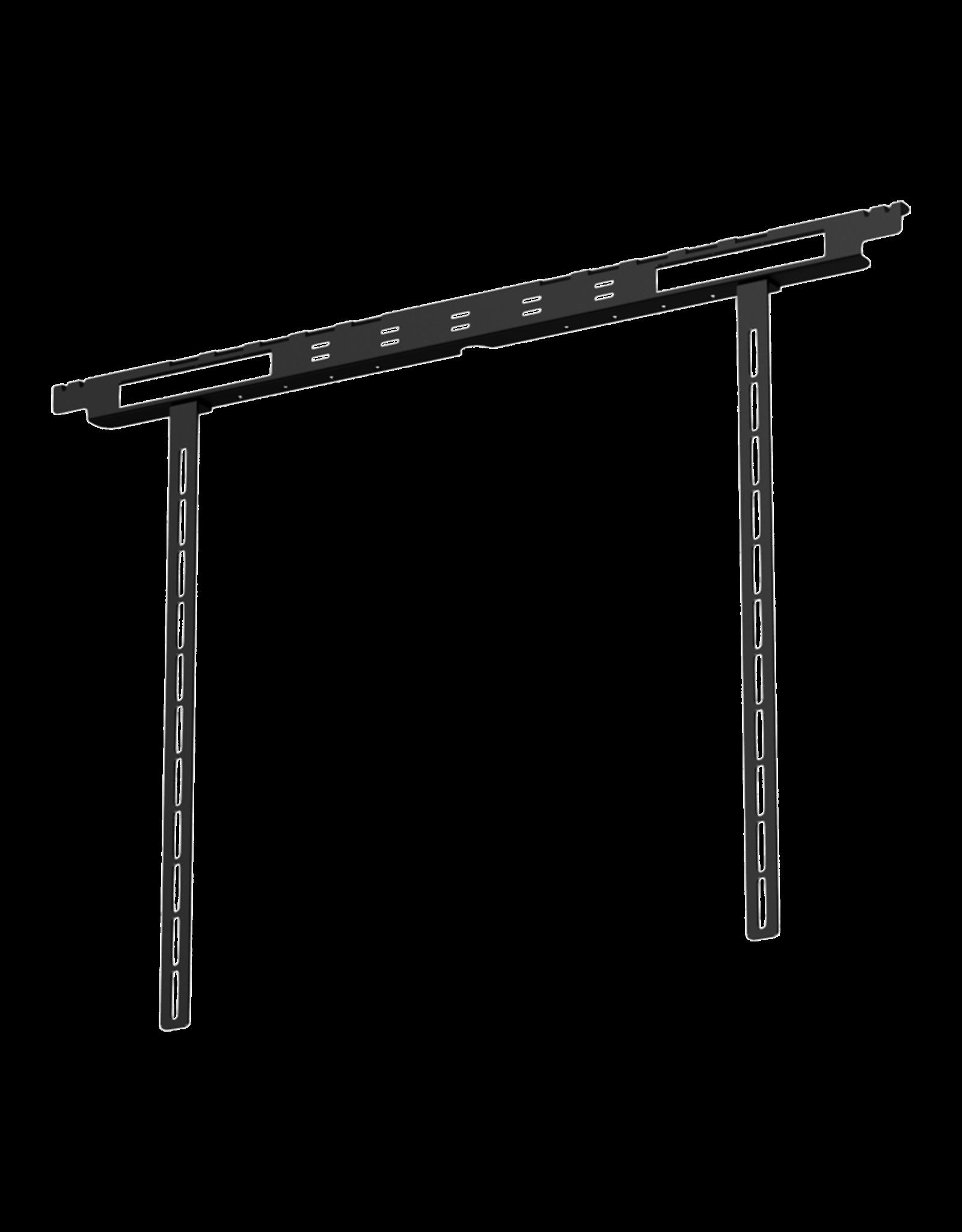 Audac Screen mount bracket for IMEO1 Black version