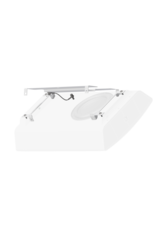 Audac Ceiling mounting bracket for NOBA8(A) White