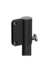 Audac 35 mm stand adapter for KYRA series column speakers Black version