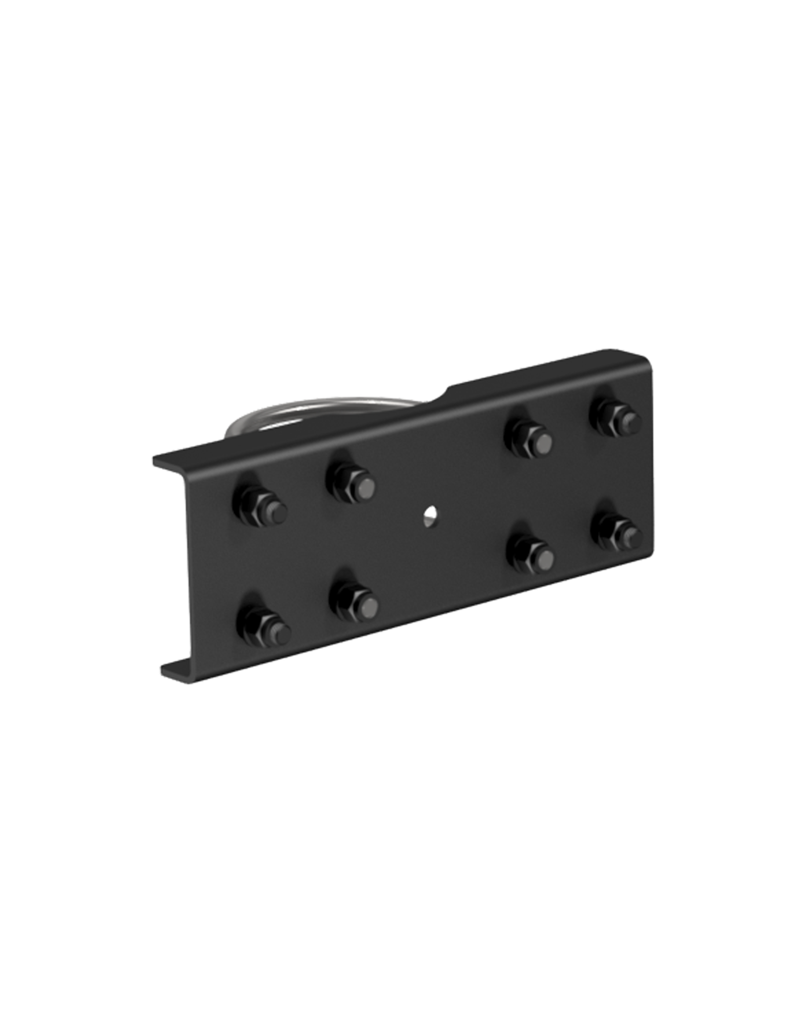 Audac Pole mount adapter set for MBK208MK2 and MBK212MK2 Black version