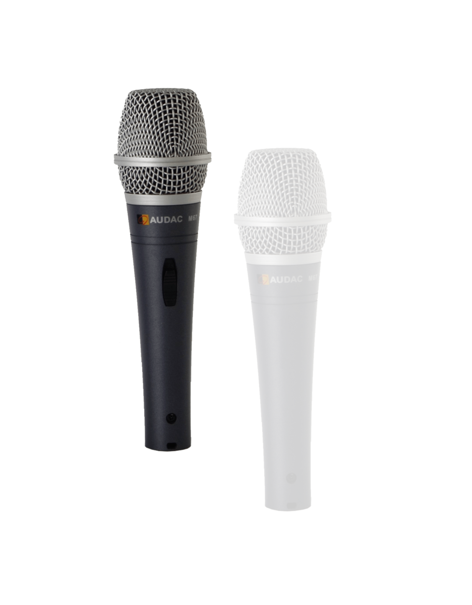 Audac Dynamic handheld microphone Vocal microphone with switch