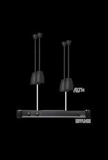 Audac 4 x ALTI4/W + EPA152 Black