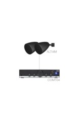 Audac 2 x ALTI4M + COM104 Black