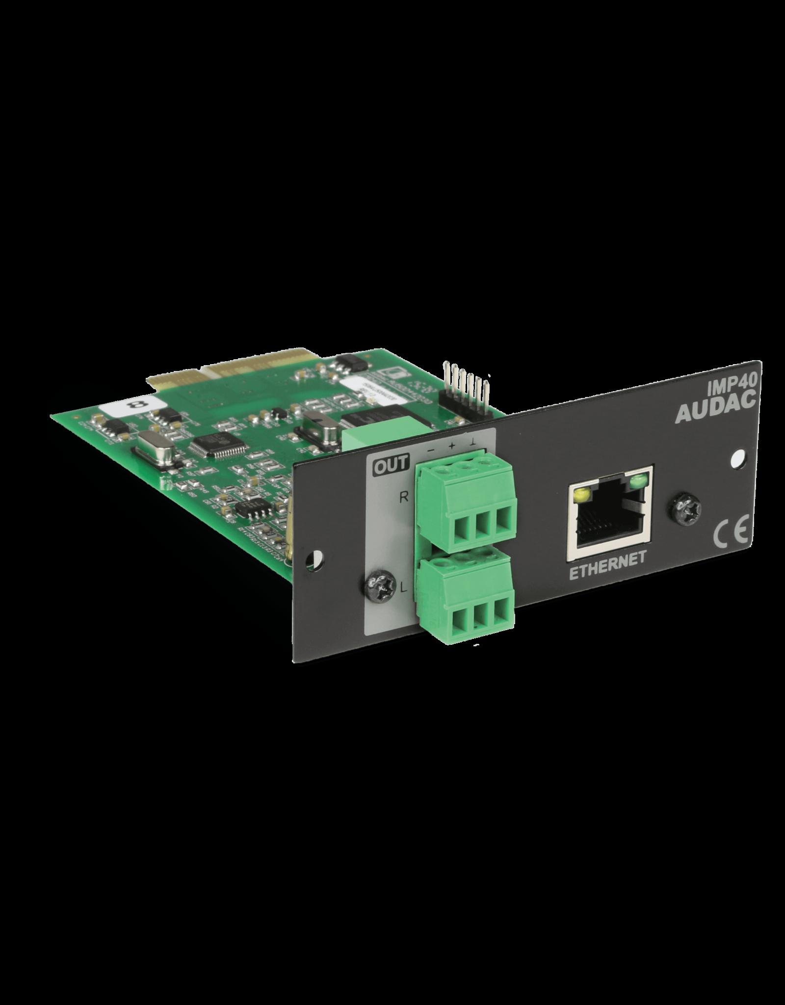 Audac SourceCon™ internet audio player module