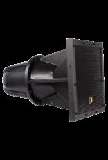 """Audac Full range horn speaker 12"""" 100V Black version - 8? and 100V"""