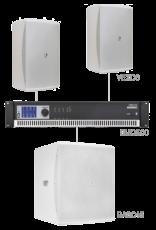Audac 2 x VEXO8 + BASO15 + SMQ500 White version