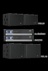 Audac 2 x FX3.15 + 2 x FX1.18 + 2 X SMQ500 + 1 x SMQ750 Black