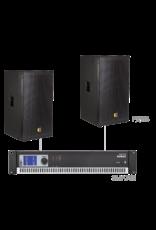 Audac 2 x PX115 + SMA750 Black version