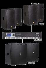 Audac 4 x PX112 + 2 x BASO15 + SMQ750 Black version