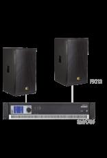 Audac 2 x PX112 + SMA750 Black version