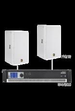 Audac 2 x PX110 + SMA500 White version