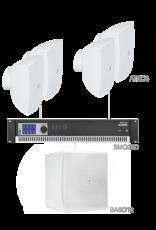 Audac 4 x ATEO6 + BASO12 + SMQ350 White version