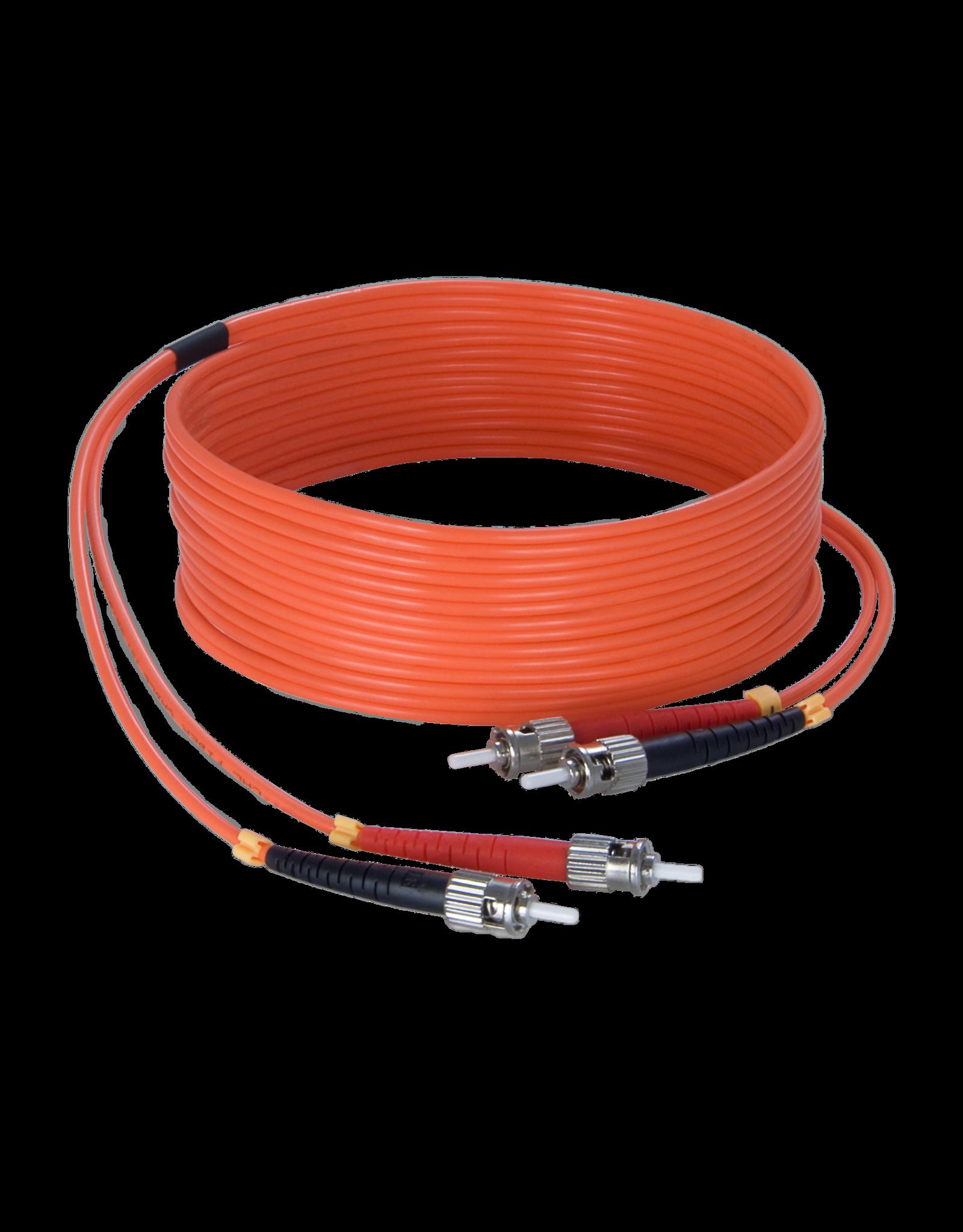 Audac Fiber optic cable - st/pc - st/pc - LSHF 90 meter