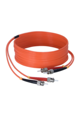 Audac Fiber optic cable - st/pc - st/pc - LSHF 50 meter