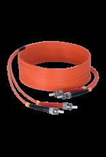 Audac Fiber optic cable - st/pc - st/pc - LSHF 40 meter