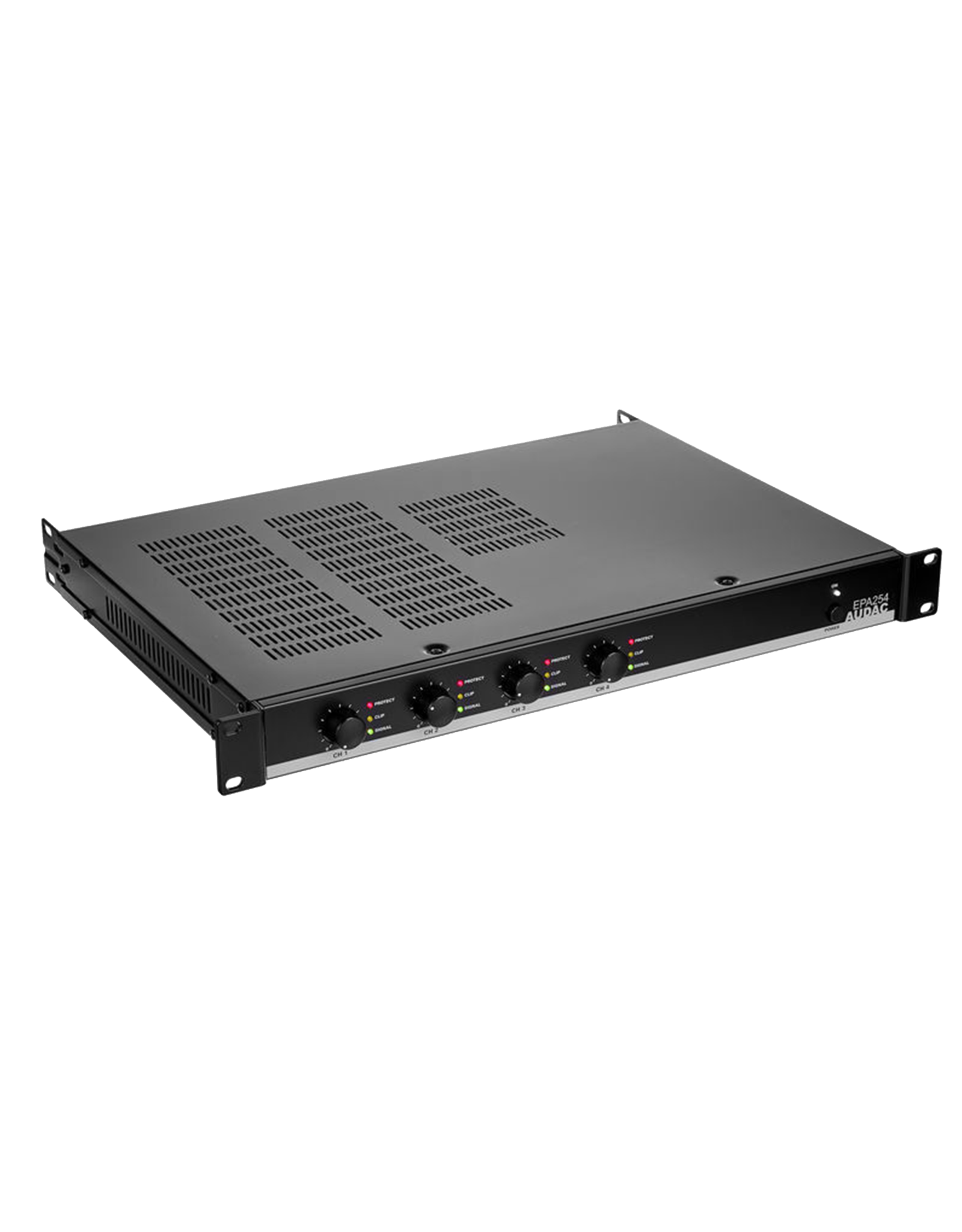 Audac Quad-channel Class-D amplifier 4 x 250W - crossover