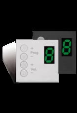 Audac Wall panel controller Bticino Black version