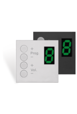 Audac Wall panel controller Bticino White version