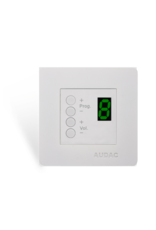 Audac Wall panel controller 45 x 45 mm White version