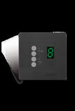 Audac Wall panel controller 45 x 45 mm Black version