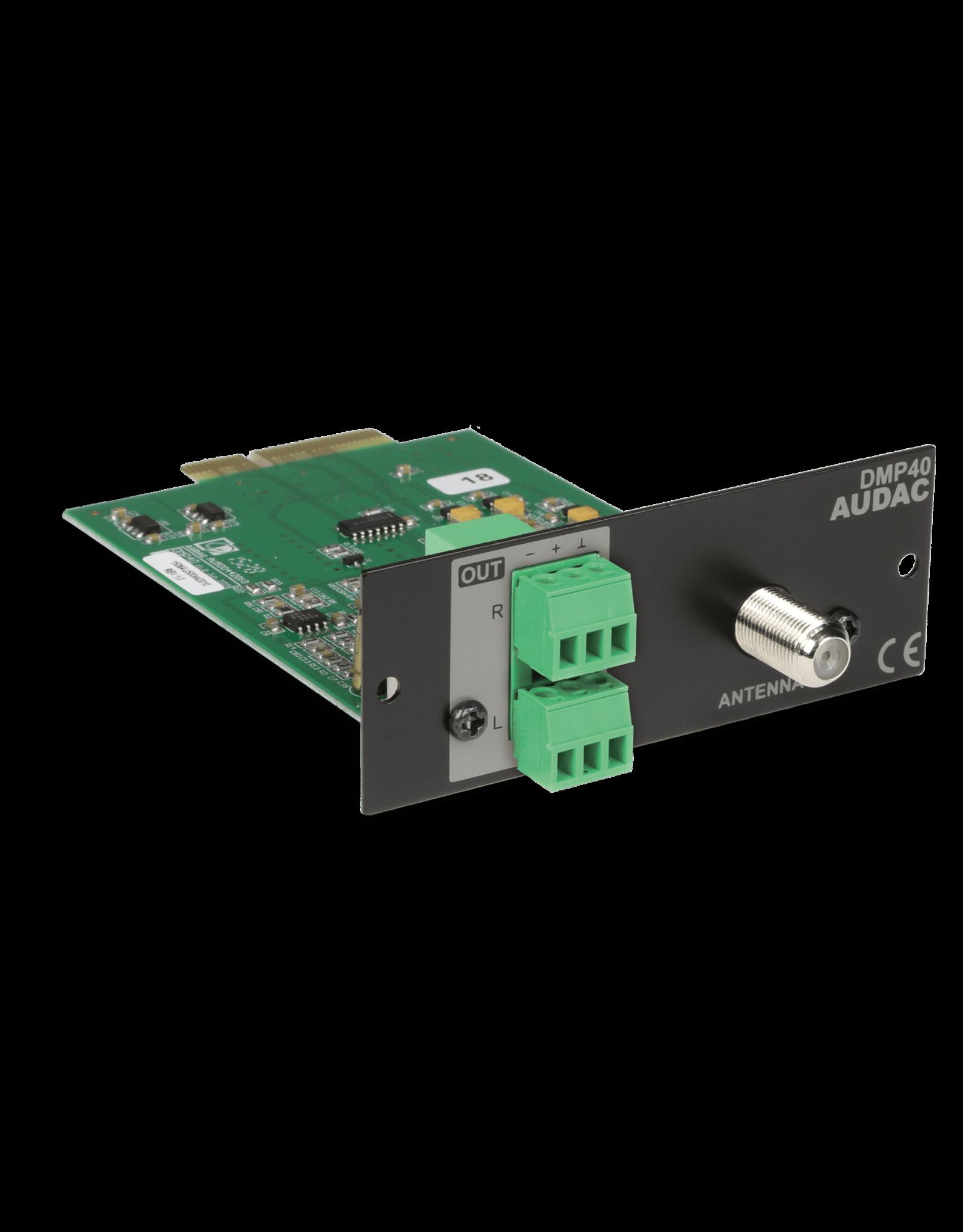 Audac SourceCon™ DAB/DAB+ & FM tuner module