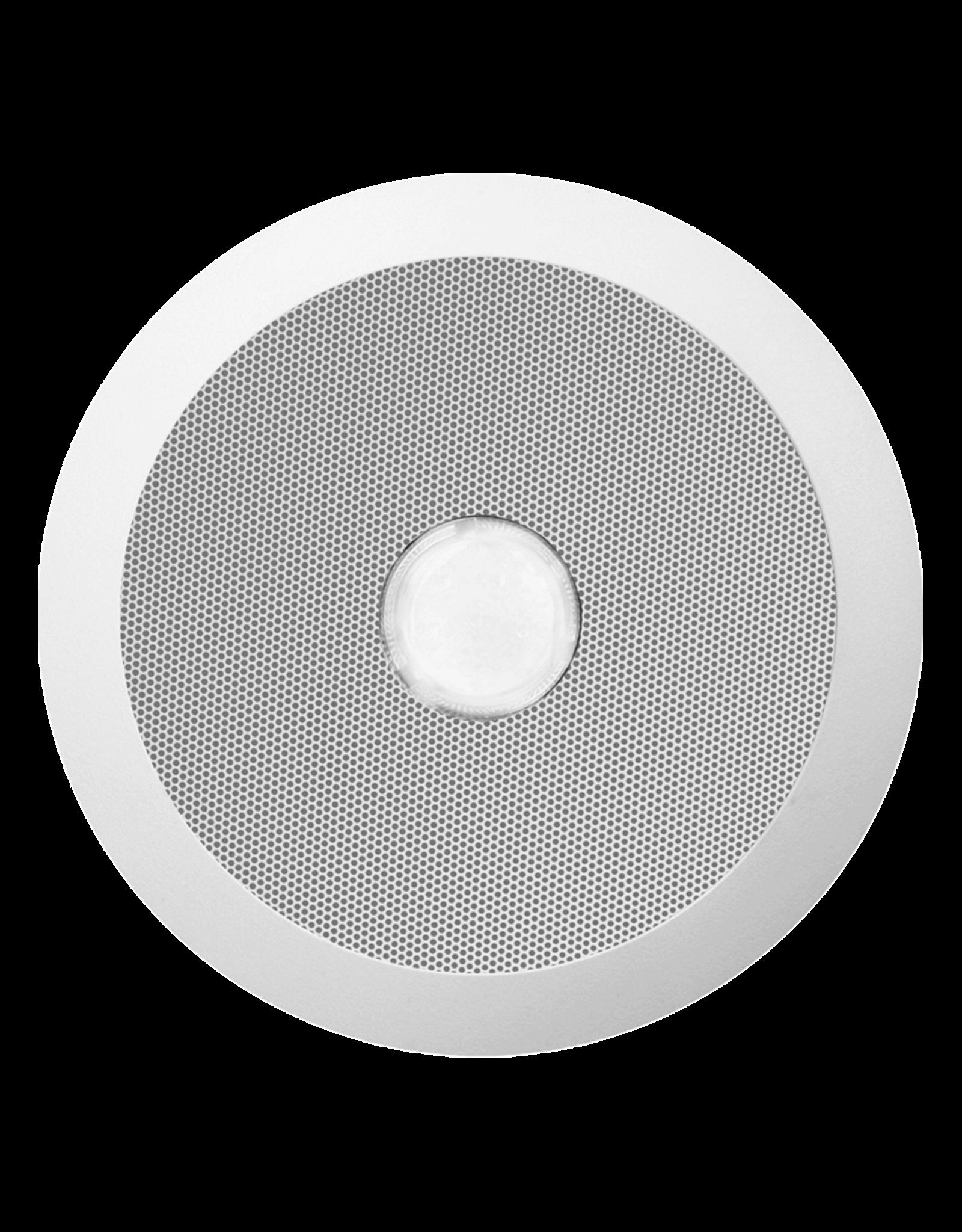 """Audac Quick fit 5 1/4"""" evacuation ceiling speaker 100V"""