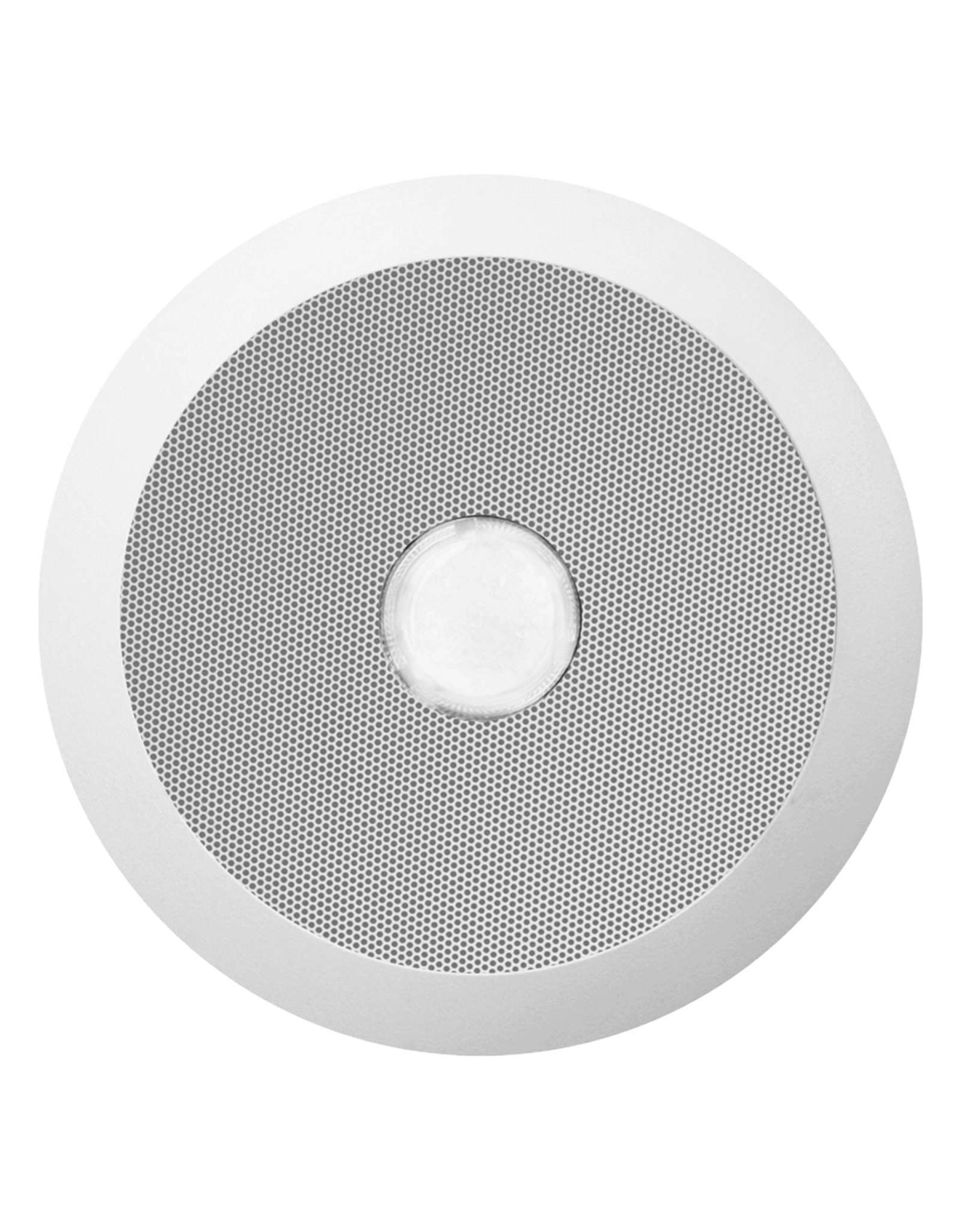 Audac Evacuation quick fit ceiling speaker, 6w, 100v + red led White