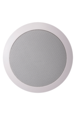 "Audac Quick-fit™ 2-way 5 1/4"" ceiling speaker 8 Ohm/100V White version (RAL9010)"