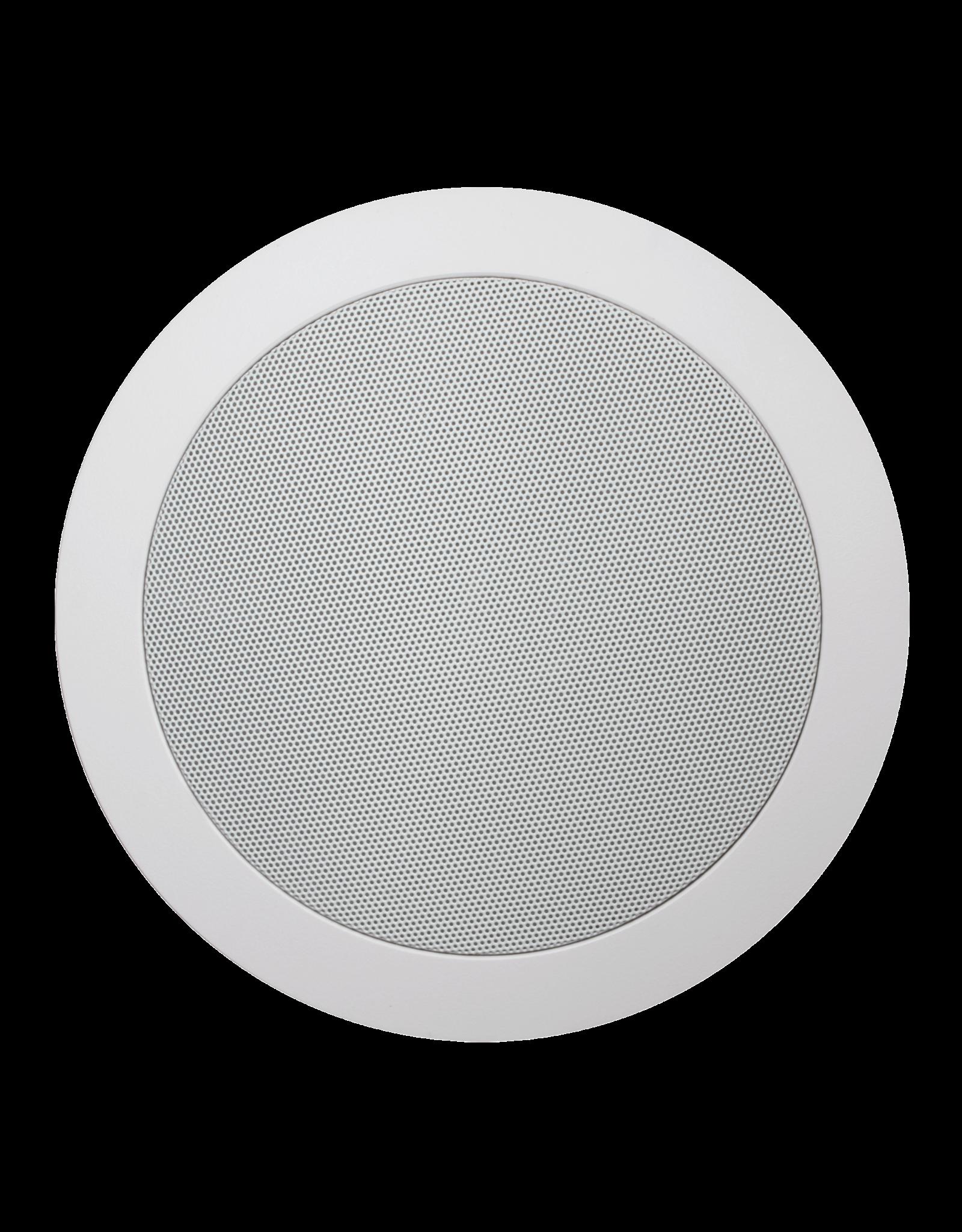 "Audac Quick-fit™ dual cone 5 1/4"" ceiling speaker 8 Ohm/100V 16 Ohm version"