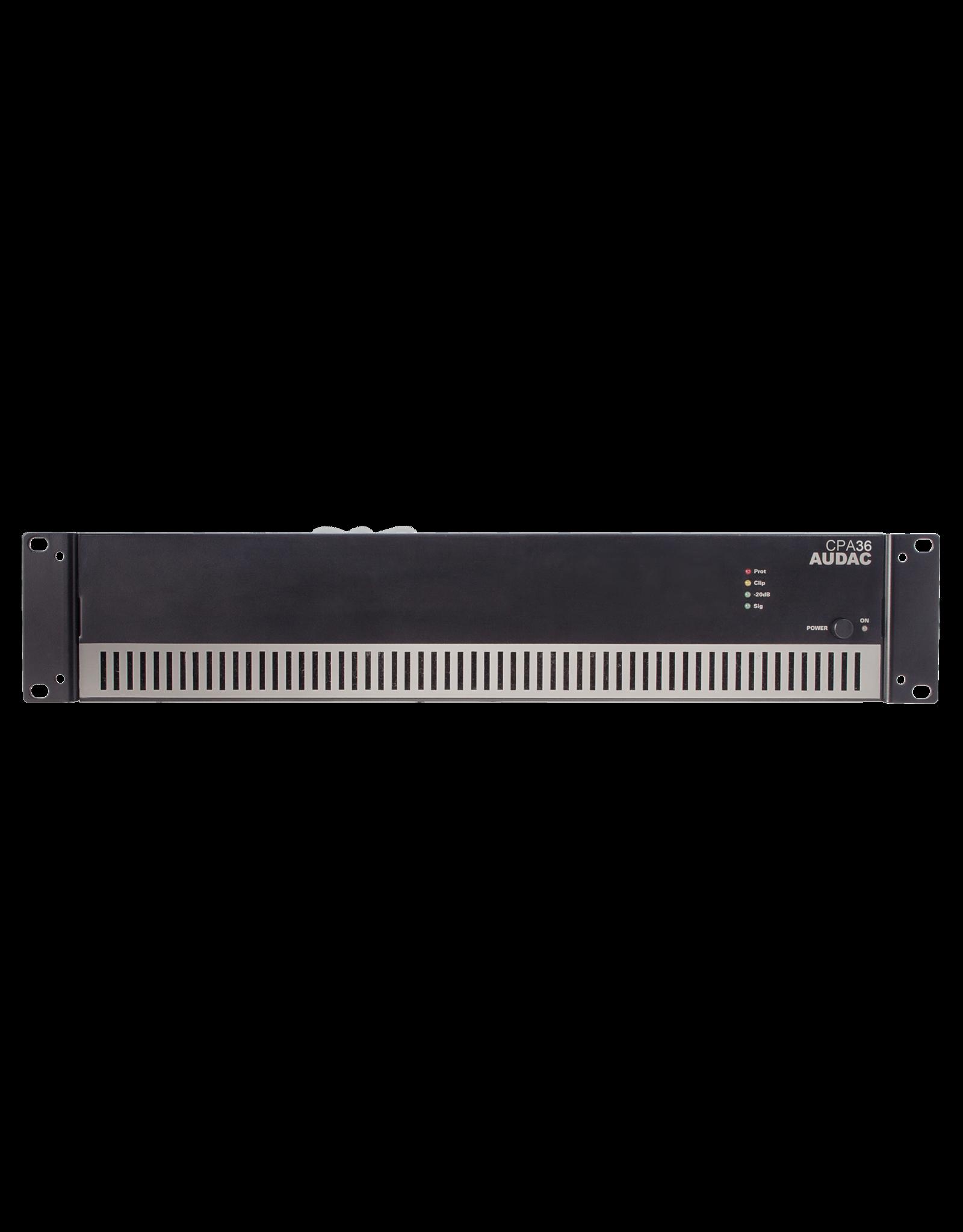 Audac Power amplifier 360W 100V