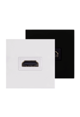 Audac Connection plate HDMI 45 x 45 mm Black version