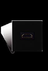 Audac Connection plate HDMI 45 x 45 mm Black version