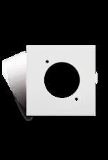 Audac Connection plate D-size 45 x 45 mm White version